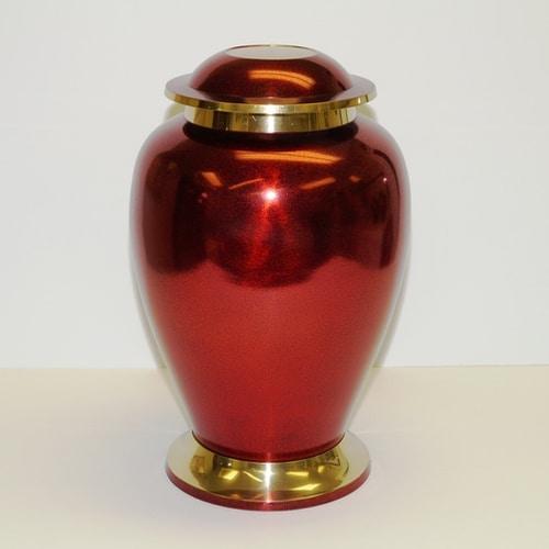 laiton rougeetor - Laiton gravé- Noir et rouge