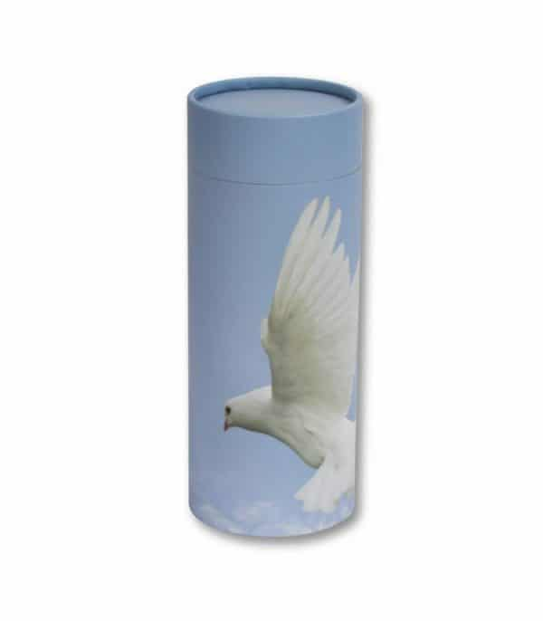 urne funeraire colombe 600x686 - Tube de dispersion- Colombe