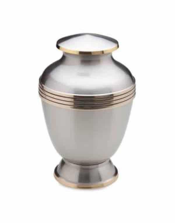 urne funraire monarque platine 600x766 600x766 - Monarch Platinum A-251